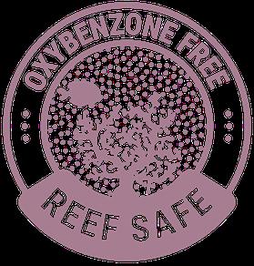 reef safe sunscreen label