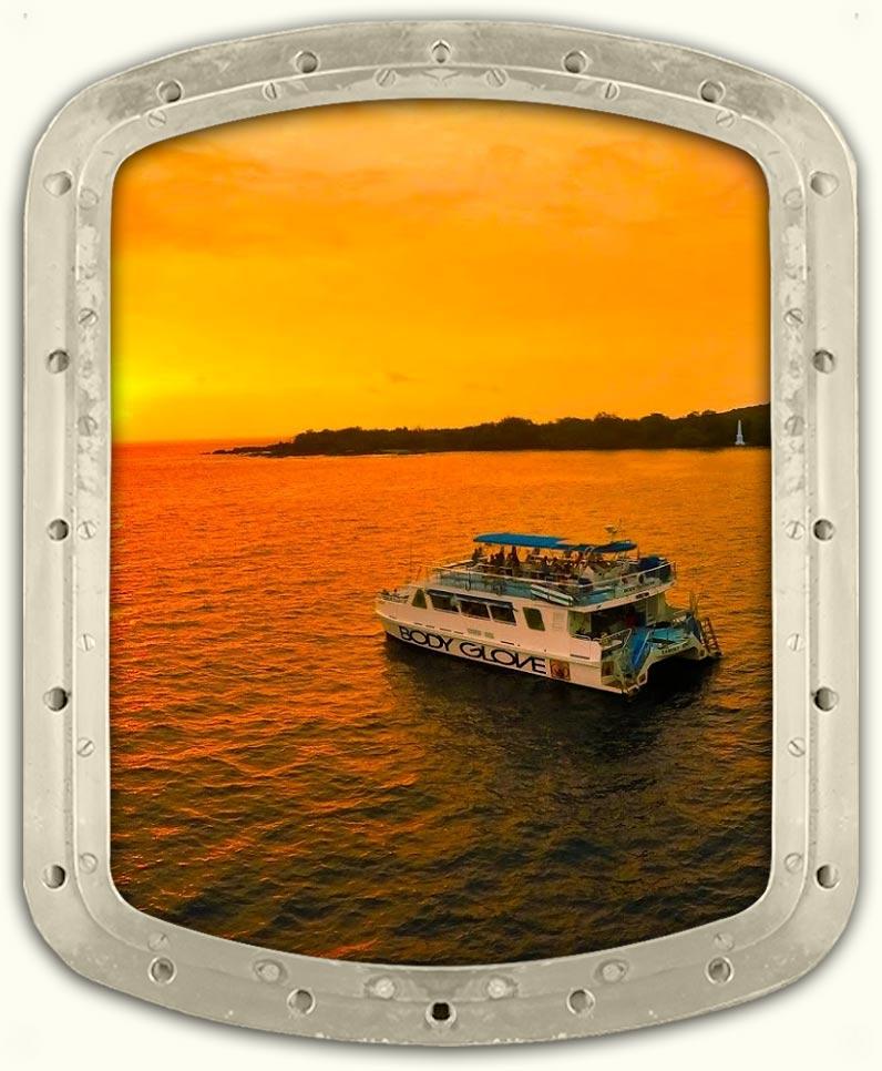Captain Cook Dinner Cruise to Kealakekua Bay